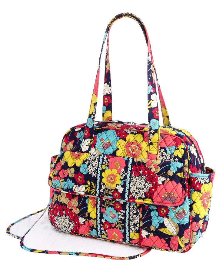 also love this vera bradley diaper bag baby ideas pinterest. Black Bedroom Furniture Sets. Home Design Ideas