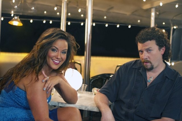 Gorgeous still of danny mcbride and katy mixon in eastbound amp down