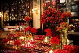 decoracao casamento vermelho