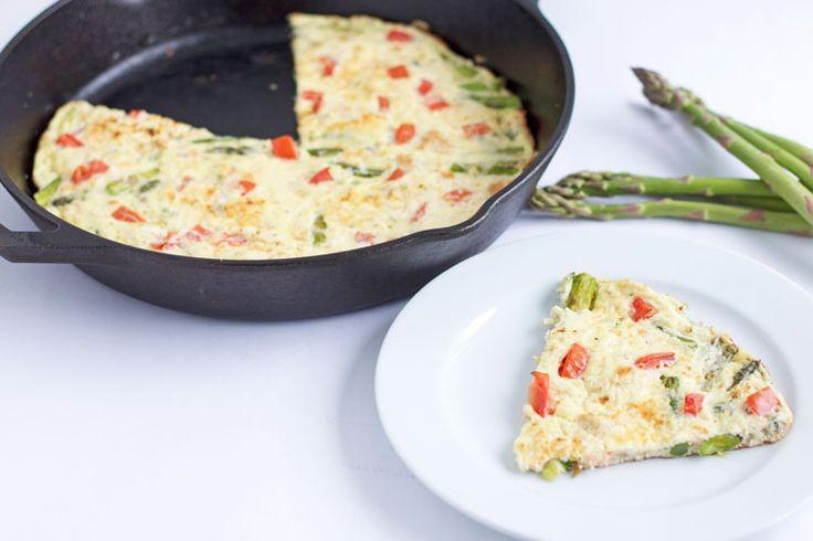 Salmon Asparagus Frittata | Recipe
