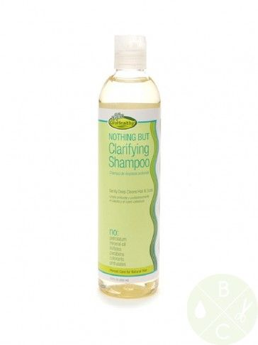 Nothing But Clarifying Shampoo 12oz  02 Natural Hair