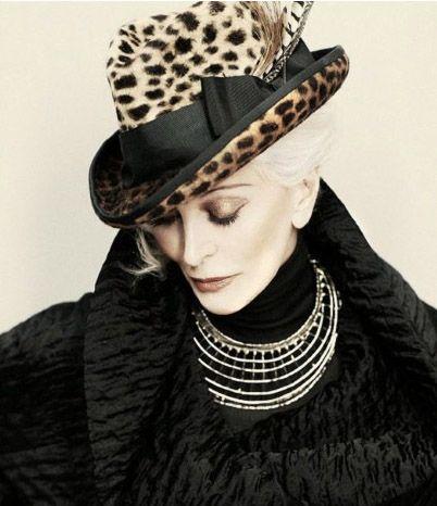 Gorgeous & Timeless — Carmen Dell'Orefice