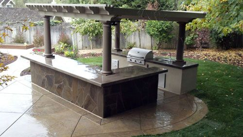 Outdoor Kitchen Canopy Great Ideas Pinterest