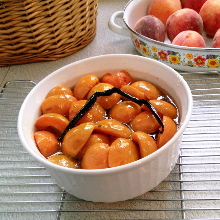 Bourbon Poached Apricots | Food and Wine | Pinterest