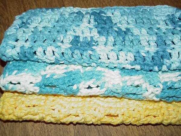Crochet Stitches Washcloths : How+to+Crochet+a+WashCloth:++Free+Pattern+