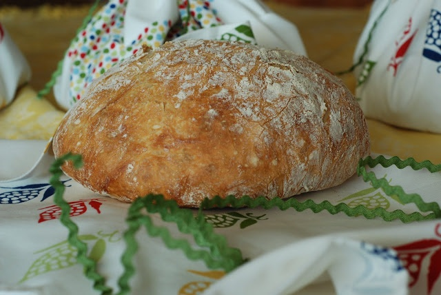 no knead crusty artisan bread make ahead the night before to allow the ...
