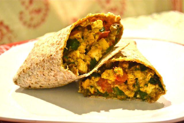 Vegan Breakfast Burrito | Vegan Food | Pinterest