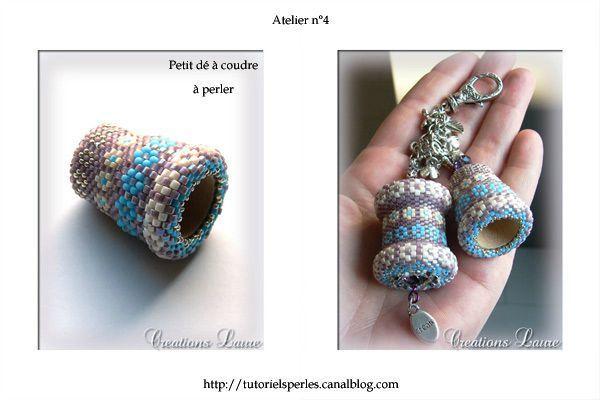 Tutoriels perles, Créations Laure, tutoriels de bijoux en perles...
