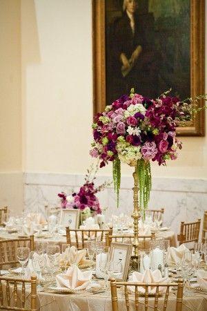 Beautiful wedding tables