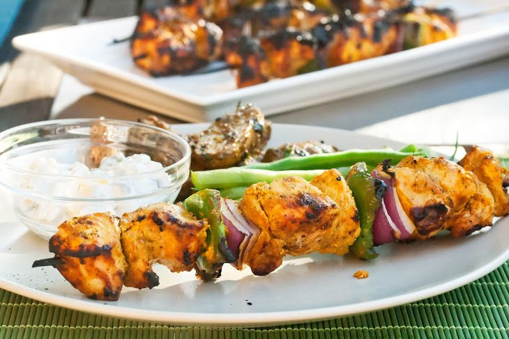 Tandoori-Spiced Turkey Skewers Recipe | Eat it | Pinterest