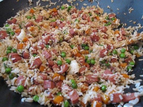 Spam Fried Rice | Pork....Yummy | Pinterest