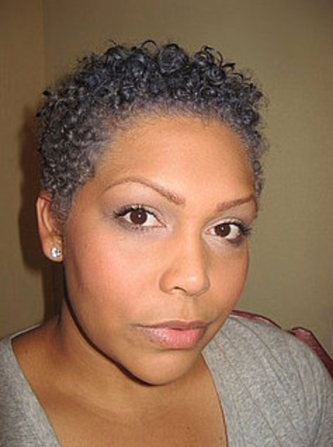 Short & curly gray/silver | Hair + Styles | Pinterest