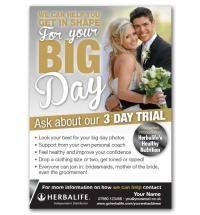 wedding flyer herbalife health coach pinterest. Black Bedroom Furniture Sets. Home Design Ideas