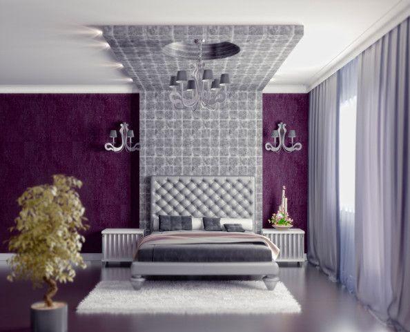 purple and gray bedroom house ideas pinterest