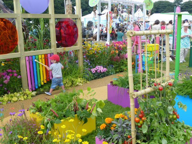 sensory garden at rhs tatton 2014 garden inspiration