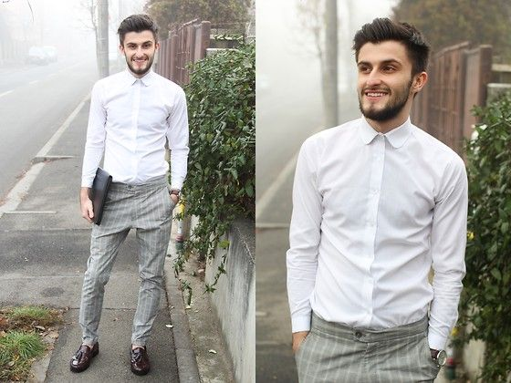 Zara Shirt, Springfield Chino, French Shriner Shoes