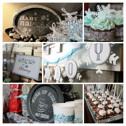 winter wonderland theme boy baby shower ideas for nana 39 s baby showe