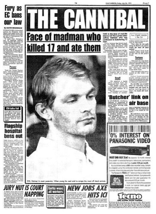 an analysis of the happening of jeffrey dahmer Framing violence and serial murder in my friend dahmer and green river killer authors: harriet earle abstract the comics form has not remained untouched by true.