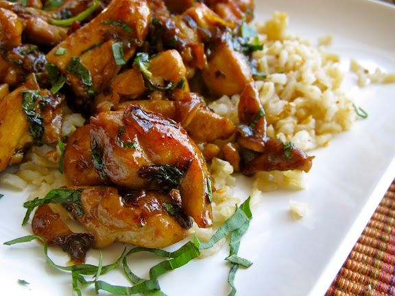 Spicy Thai Basil Chicken | Recipes to try | Pinterest