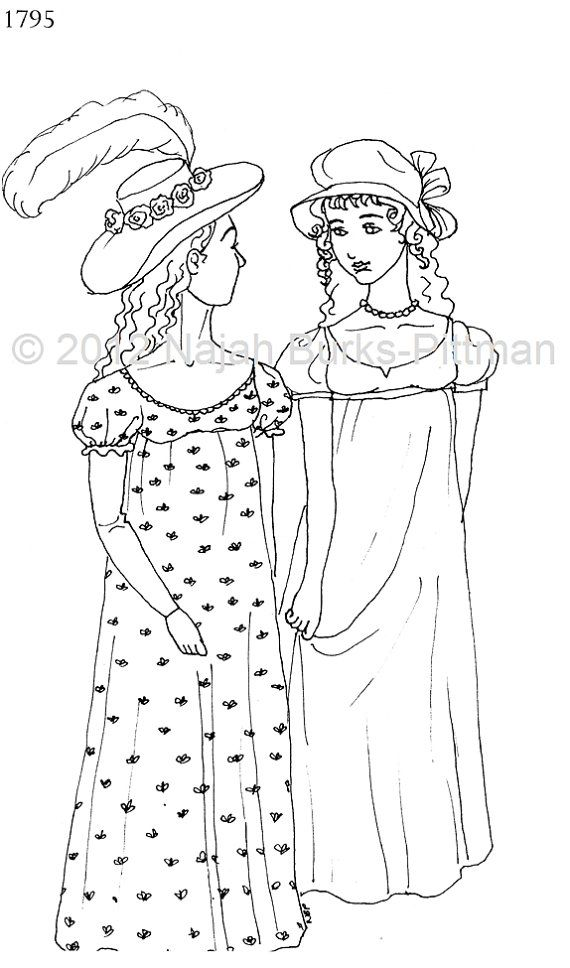 pioneer coloring pages - pioneer clothes coloring page coloring pages