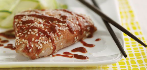 Spicy+Hoisin+Tuna+Steaks | Soul Food | Pinterest