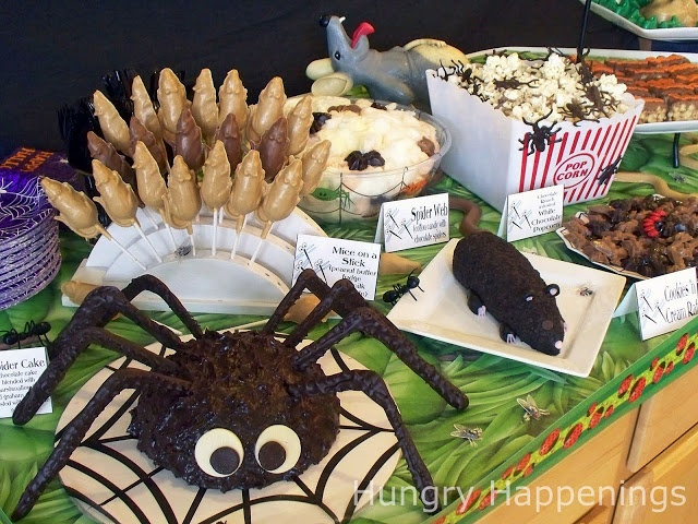 ... Happenings: Carnival of the Creepy Crawlers Halloween themed party