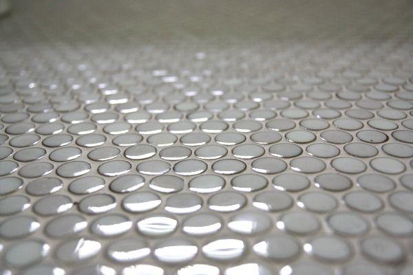 painted penny floor