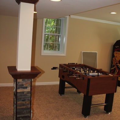 basement support poles for the home pinterest
