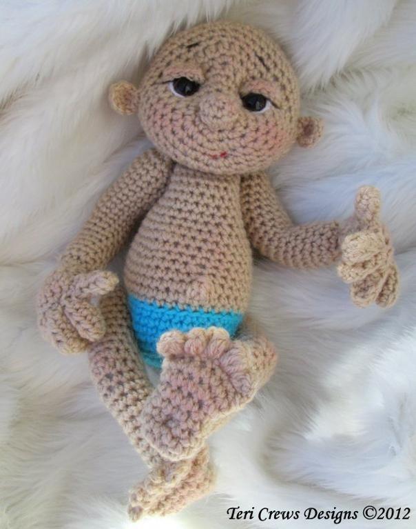 Crochet Pattern Baby Doll : So Cute Baby Doll Crochet Pattern Mi cofre de pequenos ...