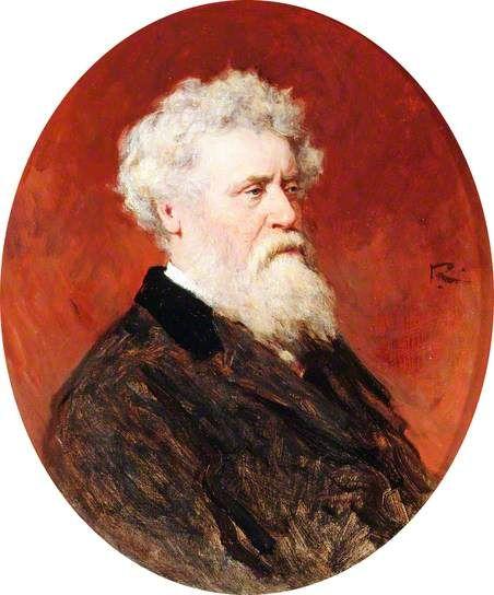 Sir Joseph Noel Paton retratado por George Reid