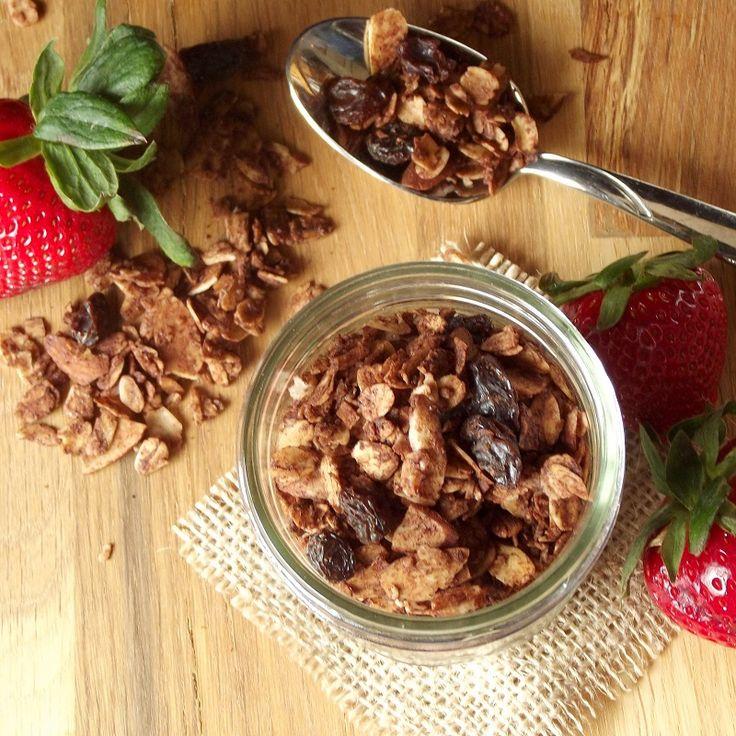 Chocolate Almond Granola | ~ Healthy Recipes for Everyone ~ | Pintere ...