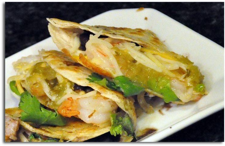 Shrimp Quesadillas | quesadillas | Pinterest