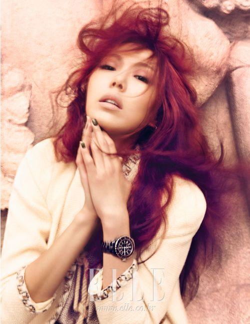 Kim Min-hee // Elle Korea // May 2013   Korean Magazine Pictorials ...