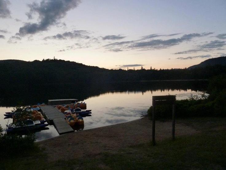 Lac monroe parc national du mont tremblant images frompo for Lac miroir mont tremblant
