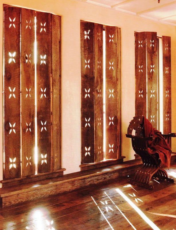 Indian Wooden Shutters Interior Design India Pinterest
