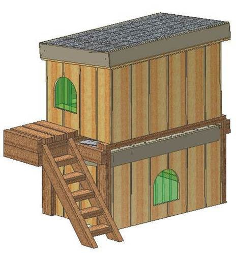 Insulated dog house plans 15 total medium sized dog Medium sized home plans