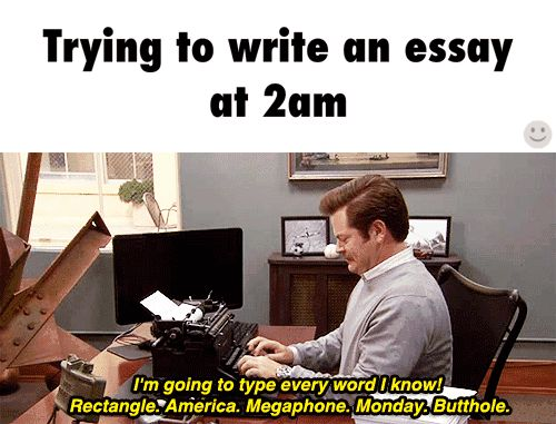 3 page essay due tomorrow