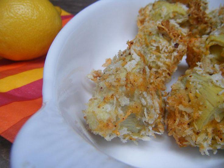 Baked Artichoke Hearts with Aioli Sauce   Good, healthy food   Pinter ...