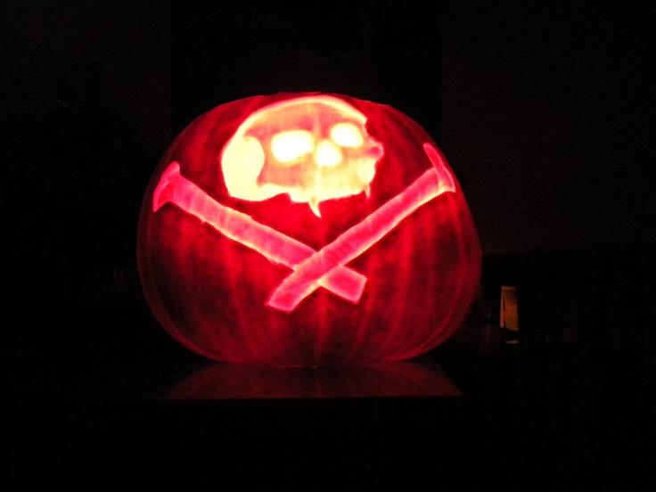 Pumpkin Carving lit by ~SammieGirl1980