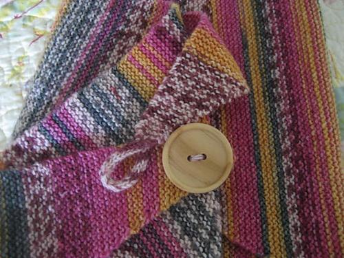 Baktus Scarf Knit in Sock Yarn Knitting Pinterest