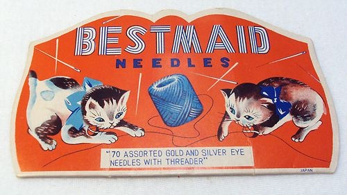 Vintage Japanese BestMaid Sewing Needle Book