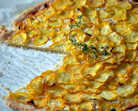 goat cheese and basil frittata lemon y zucchini goat cheese pizza ...