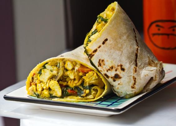 High Protein Vegan Breakfast Burrito Recipes — Dishmaps