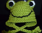 my little happy froggy hat