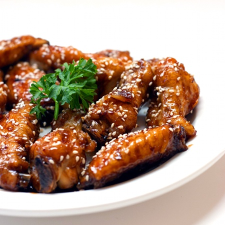 Sweet Soy and Ginger Glazed Chicken Wings - OR, My Chicken Wings - 5 ...