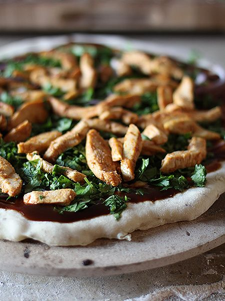 Barbecue Chicken Pizza | One Dish - Dishes... | Pinterest