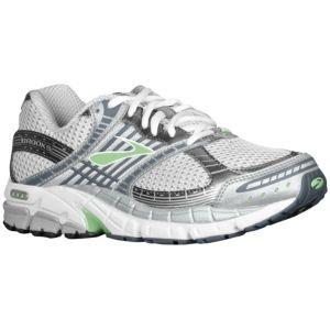 Brooks Ariel - Women's - Running - Shoes - Green Ash/Pavement/White