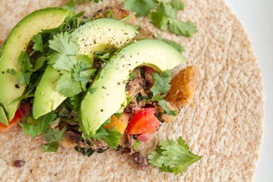 Potato 'n Black Bean Burritos by Oh She Glows. We love our burritos ...