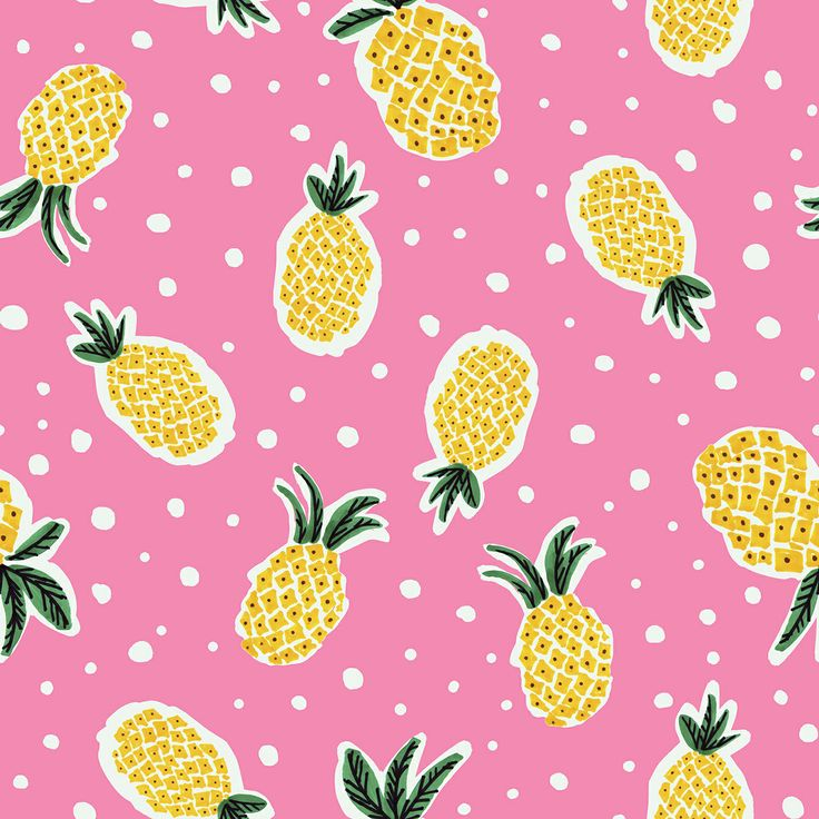 Pineapple print. | Gal...