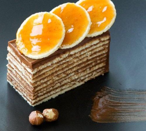 Dobos Torte | Calories? What Calories? | Pinterest